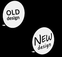 看板デザイン変更