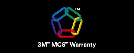 3M™ MCS™ Warranty ロゴ
