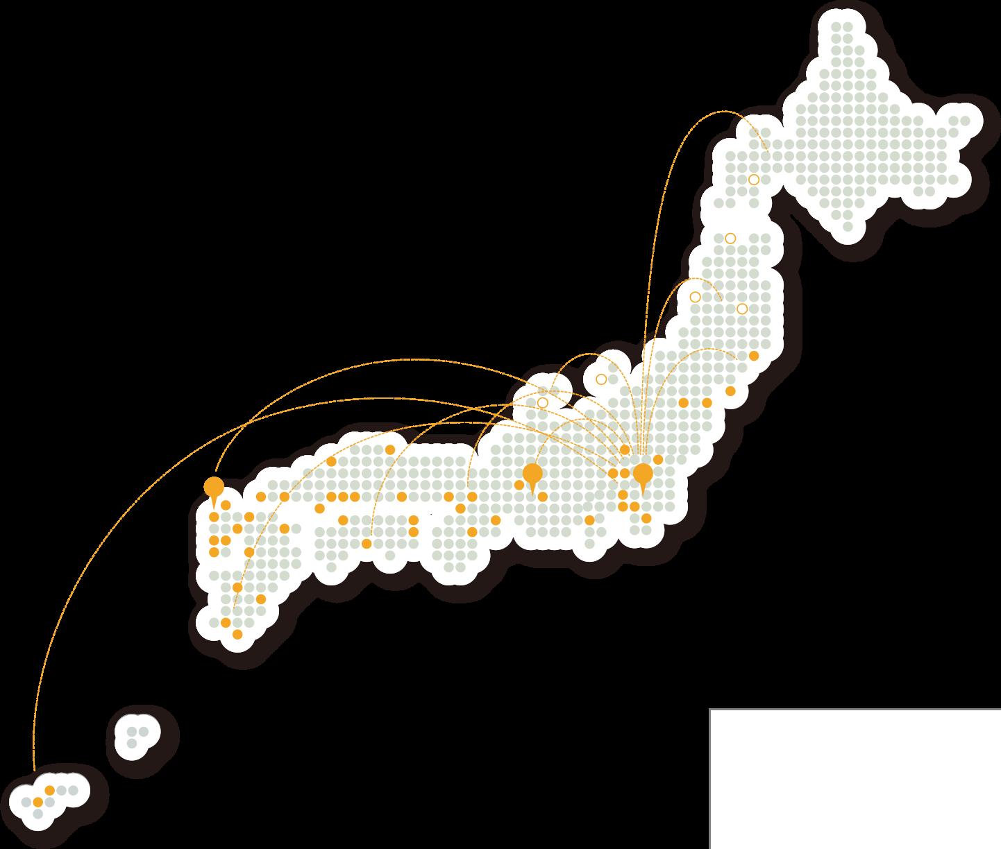 全国に広がる看板施工ネットワーク