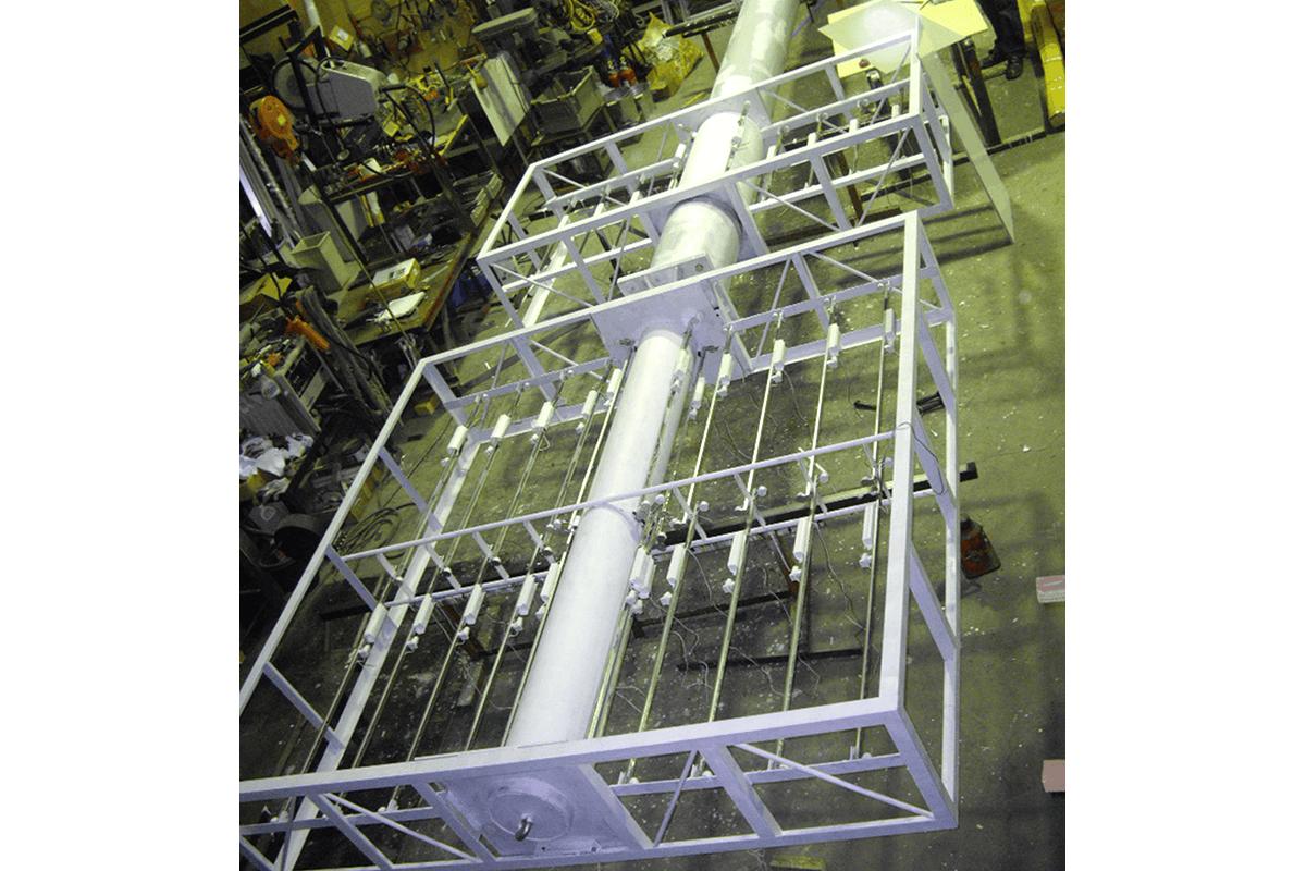 看板事例:A 様:内照式サインポール製作