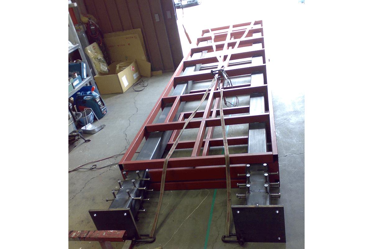 看板事例:P 様:オリジナル自立看板製作