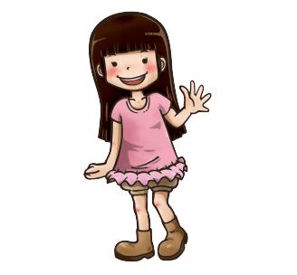 女の子のオリジナルイラスト制作例