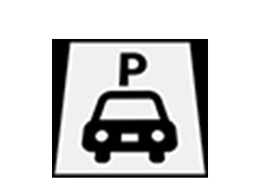 駐車場路面標示