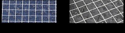 3M 駐車場用路面シート下地チェック方法(3)仮圧着後のフィルム表面の確認