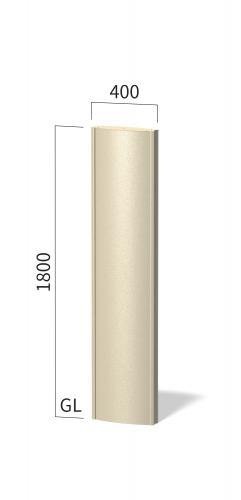 ソレイユ SOL4018 タワーサイン ステンカラー
