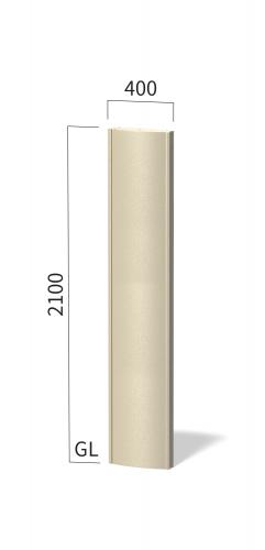 ソレイユ SOL4021 タワーサイン ステンカラー