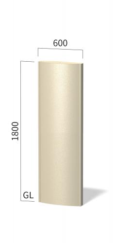 ソレイユ SOL6018 タワーサイン ステンカラー