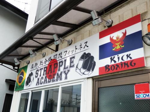 ファサード・壁面看板施工事例写真 東京都 大きな面積で壁面を有効利用すれば集客に繋がりますよ