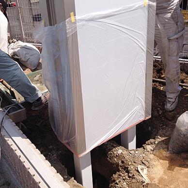 タワーサイン・自立看板施工事例写真 兵庫県 LED内照式自立看板は認知度アップに欠かせないアイテムです