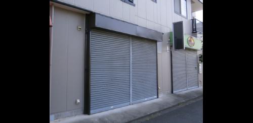 ファサード・壁面看板施工事例写真 東京都 施工前の現場写真です
