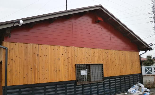 ファサード・壁面看板施工事例写真 愛知県 シンプルでさほど視認性の良くない施工前の看板