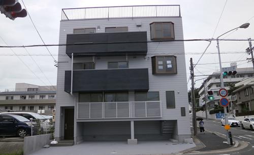 箱文字・切り文字看板施工事例写真 愛知県 施工前の現場写真です