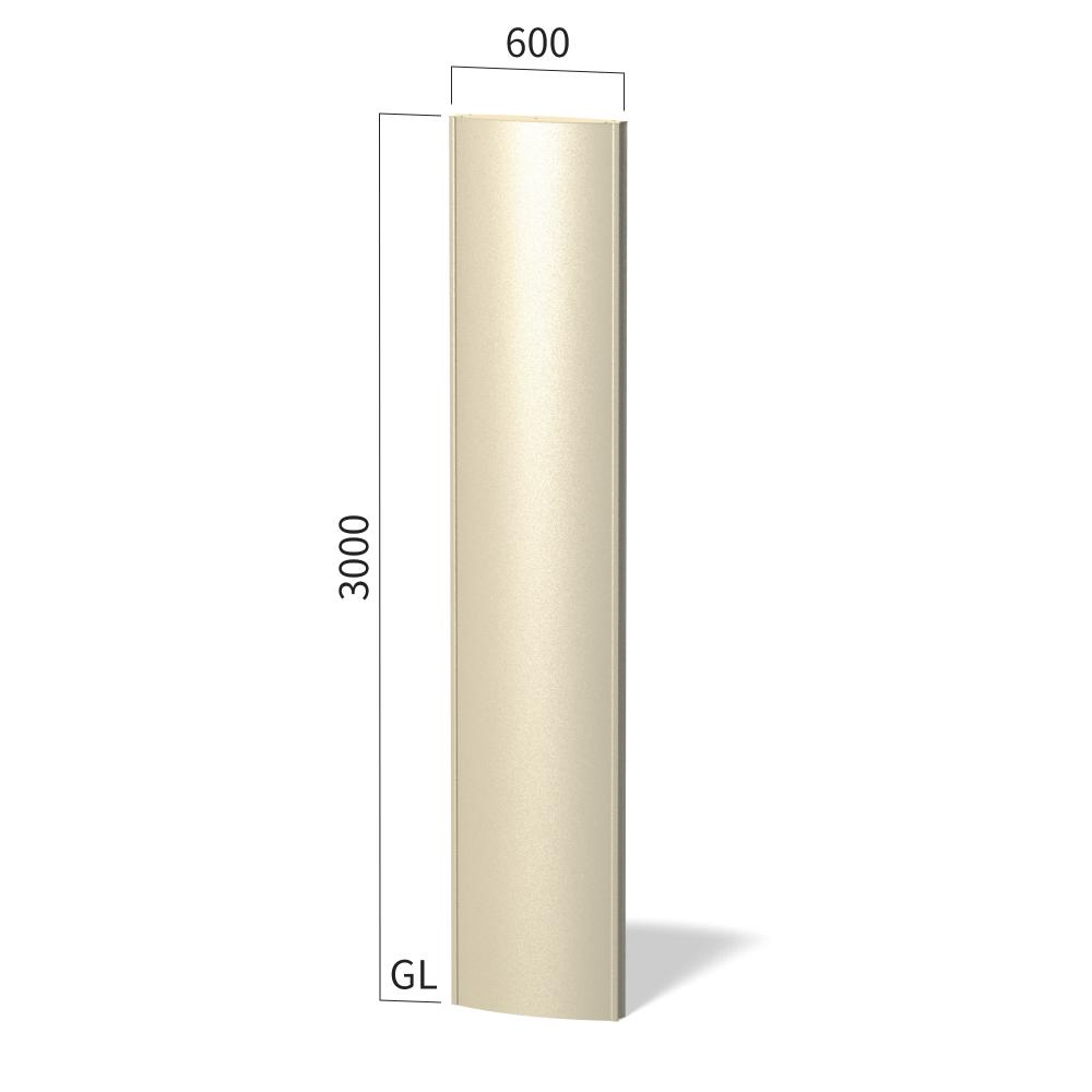 ソレイユ SOL6030 タワーサイン ステンカラー