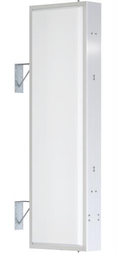 【LED照明】アルミサイン5尺「角」突出し看板AD-5515E-LED シルバー