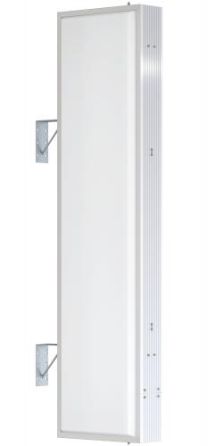 【LED照明】アルミサイン6尺「角」突出し看板AD-6515E-LED シルバー