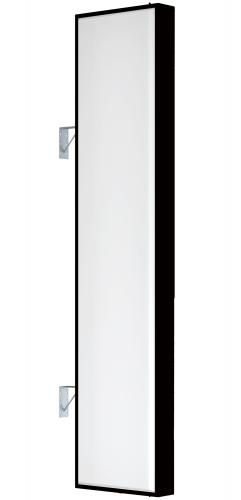 【蛍光灯】アルミサイン9尺「角」突出し看板AD-9215 ブラック