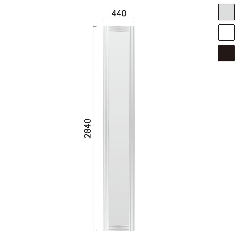 ギアモンブラン タワータイプ GT-9 タワーサイン シルバー, ホワイト, ブラック