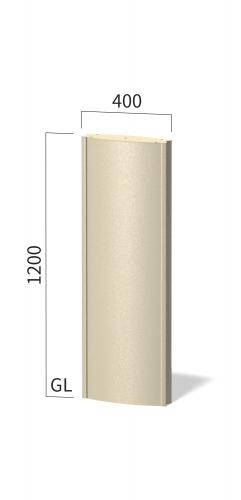 ソレイユ SOL4012 タワーサイン ステンカラー