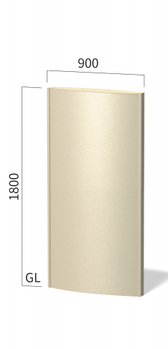 ソレイユ SOL9018 タワーサイン ステンカラー