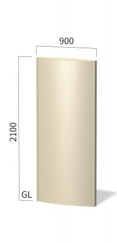 ソレイユ SOL9021 タワーサイン ステンカラー