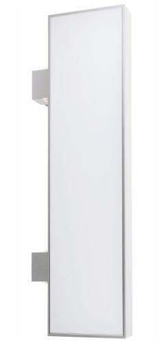 【蛍光灯】アルミサイン200巾平板面板「角」突出し看板AD-9220 シルバー