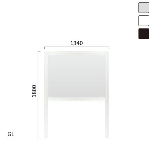 ギアモンブラン GM-3 タワーサイン シルバー, ホワイト, ブラック