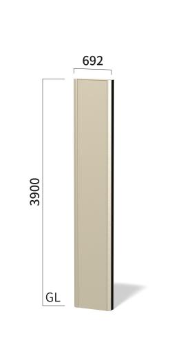 マンハッタン M6040 タワーサイン ステンカラー