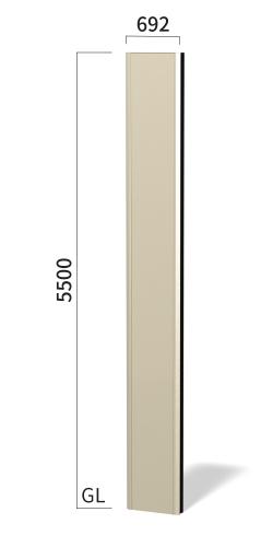 マンハッタン M6055 タワーサイン ステンカラー