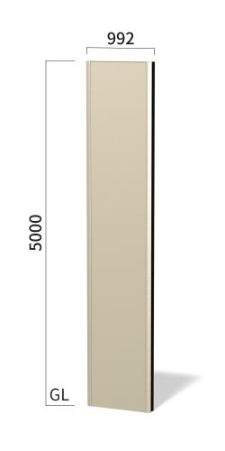 マンハッタン M9050 タワーサイン ステンカラー