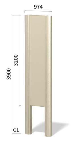 タワーズ T6040A タワーサイン ステンカラー