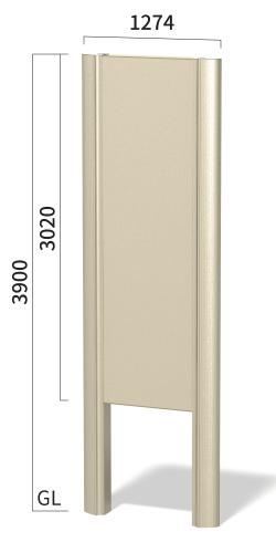 タワーズ T9040A タワーサイン ステンカラー