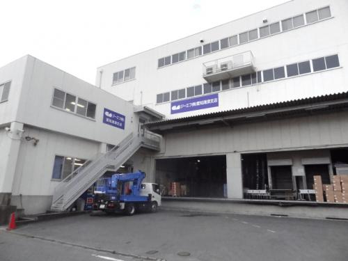 ファサード・壁面看板施工事例写真 愛知県 昨年末は看板工事案件が立て込んでおり年明け早々の工事でお客様にお願い致しました