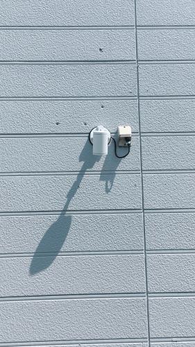 ファサード・壁面看板施工事例写真 神奈川県 LEDスポットスポットはフランジタイプを使用しました
