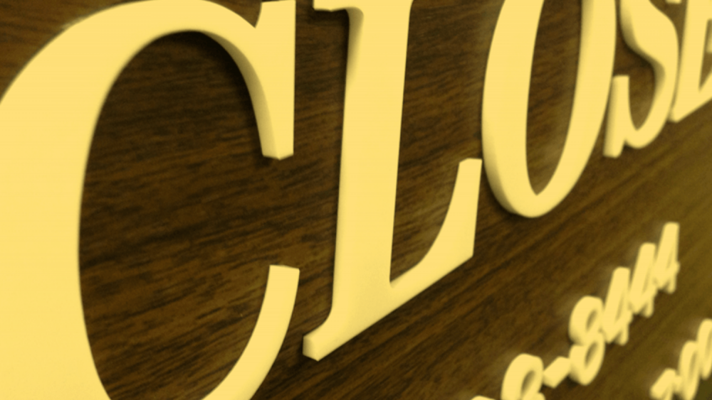 店名・社名看板に!アクリル文字の製作方法と素材の種類について
