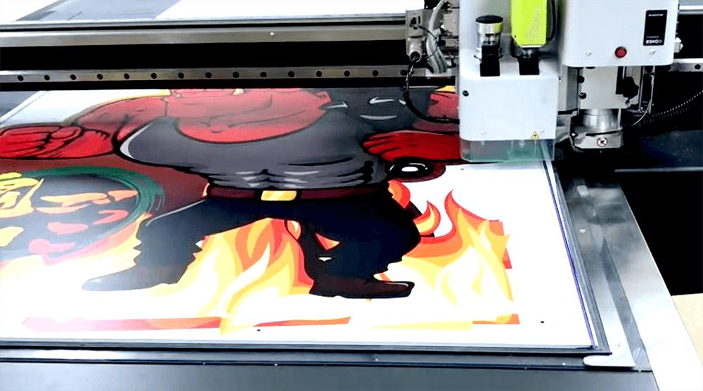 スチレンボードのカット画像