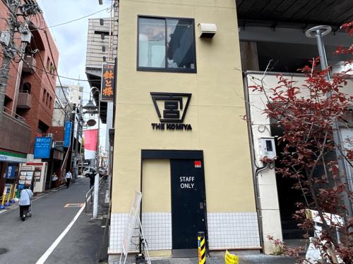 ファサード・壁面看板施工事例写真 東京都 この仕様の看板文字が立体のためお洒落でお客様から人気のあるものです